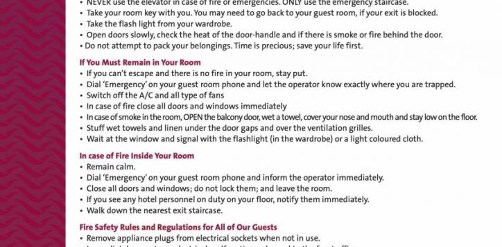 fire-safety-procedures